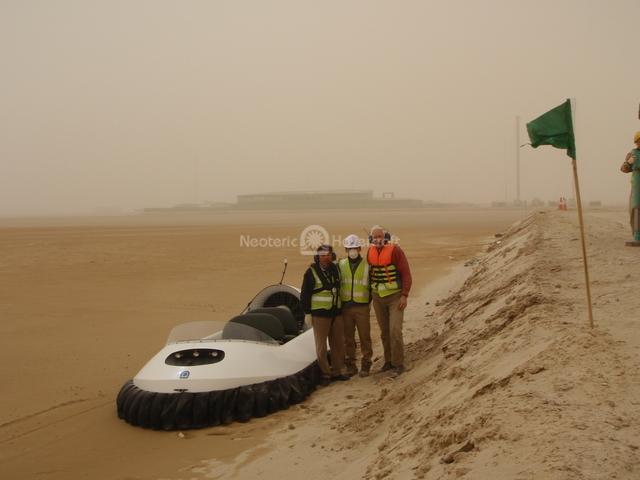 Image Hovercraft Training Mubarak Al-Kabir Port Project Kuwait