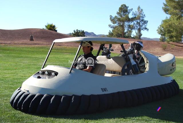 Neoteric Hovercraft Golf Cart Kingdom Magazine