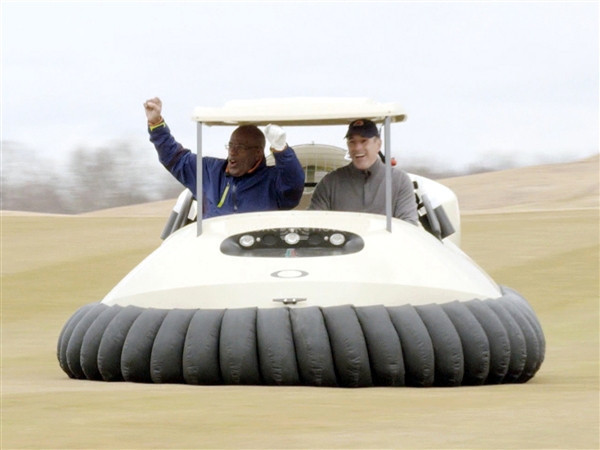 Today Show BW1 Bubba's Hover golf cart photo