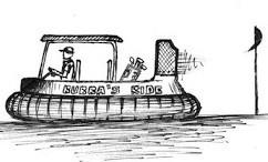 Bubba Watson hover golf cart