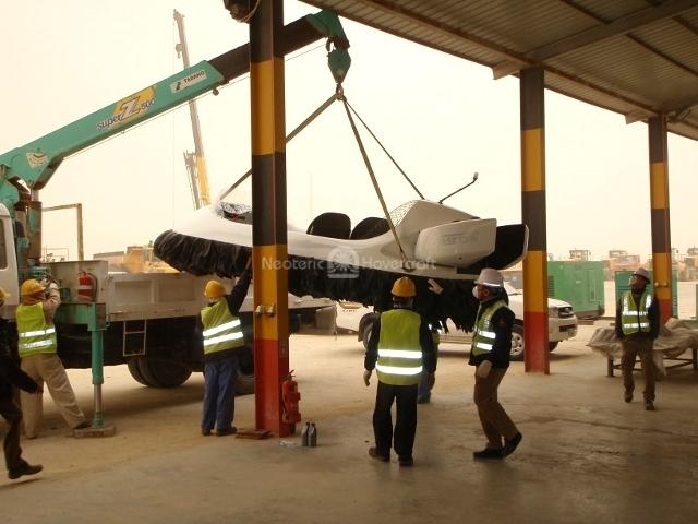 Image Hyundai E & C hovercraft Kuwait port