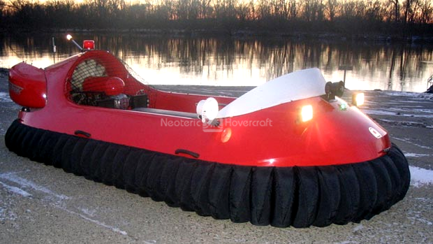 Moncton Fire Department Neoteric rescue hovercraft image