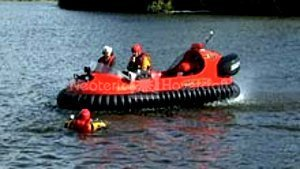 Moncton Fire Department hovercraft pilot training