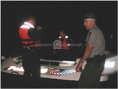 Image St. Croix Tribal Police Neoteric rescue hovercraft