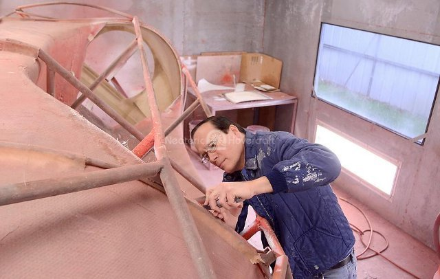 Photo Neoteric Hovercraft manufacturing fiberglass