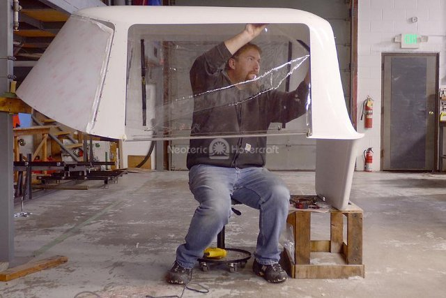 Picture Neoteric Hovercraft cabin manufacture