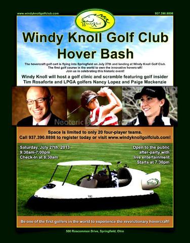Windy Knoll Golf Club Hover Bash