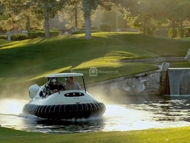 Bubba Watson hovercraft golf cart USA Today