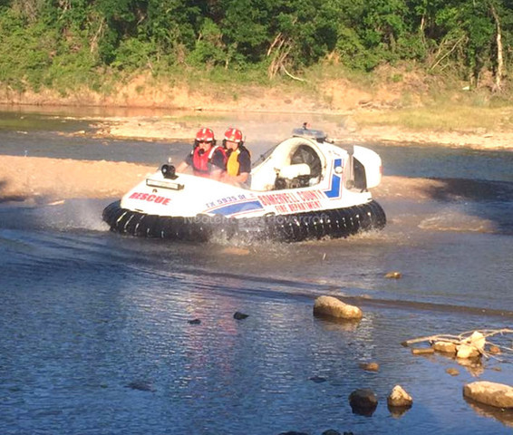 Photo Hovercraft water rescue Neoteric