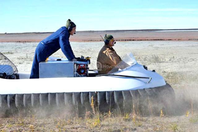 Neoteric Hovercraft mining dust suppression vehicles Taconite Mesabi Iron Range Mining vehicles