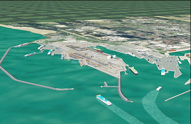Mubarak Al-Kabeer port design