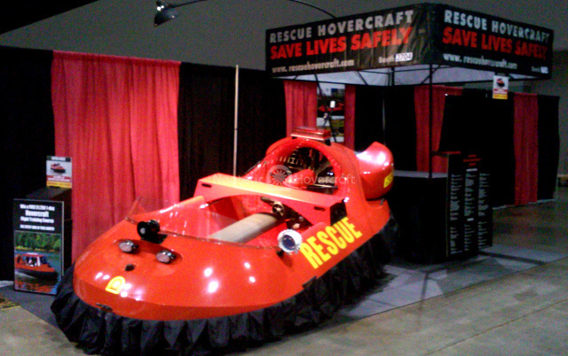 #FDIC International, Rescue Hovercraft, #Firefighting apparatus, #Neoteric Hovercraft, Rescue equipment