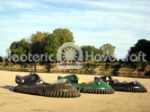 Neoteric Hovercraft on sandbar Wabash River photos