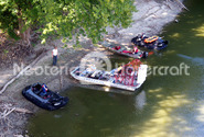 Photo Airboat Hovercraft water rescue Wabash River
