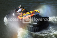 Photo River rescue hovercraft First Response Team of America Tad Agoglia