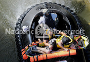 Pictures Water rescue hovercrafts Neoteric victim transport CNN Hero Tad Agoglia