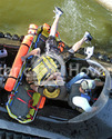Photos Neoteric Hovercraft water rescue stretcher First Response Team of America