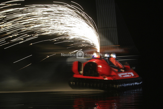 Hovercraft with Sparks