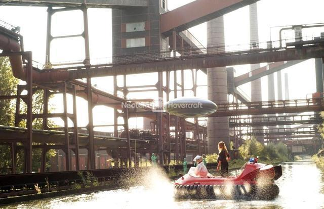 Neoteric Hovercraft Used in Film Production
