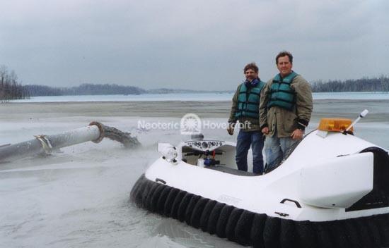 Rescue Hovercraft Model #3626