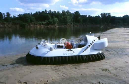 Commercial Hovercraft for Saltwater Fly Fishing