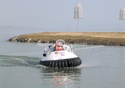 Hovercraft Training for Larvacide Distribution