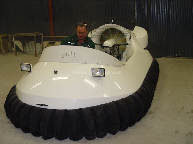 Hovercraft kit assembly