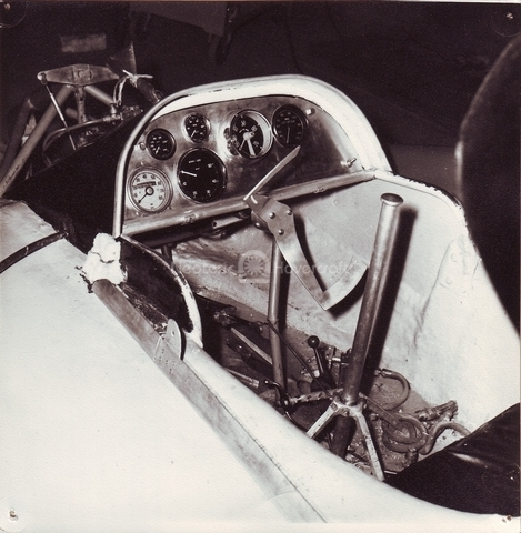 Fig 6: Original cockpit layout