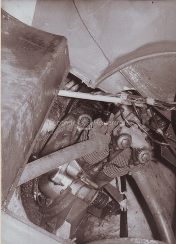 Fig. 8: Second lift engine installation
