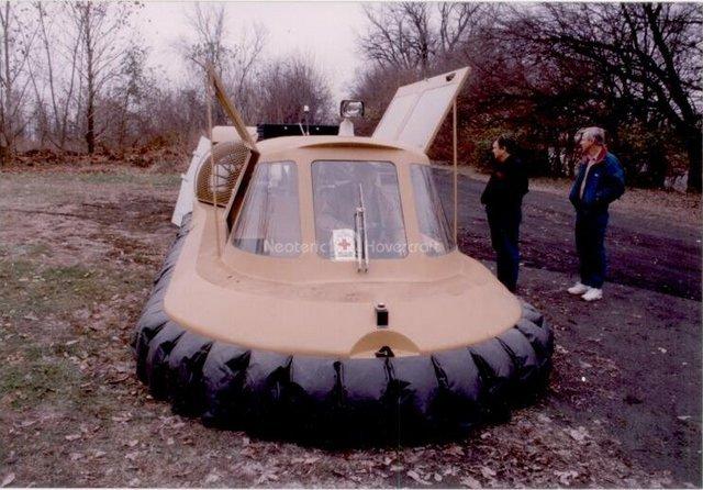 Neova 8 Hovercraft history picture
