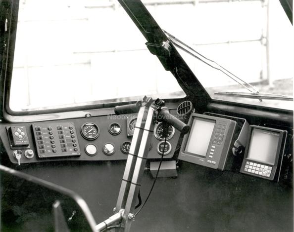 Neova 8 Hovercraft interior photo