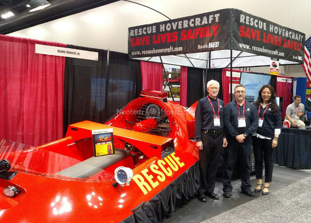 FDIC 2017 Neoteric Rescue hovercraft image