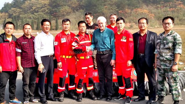 Photo Chris Fitzgerald Neoteric Hovercraft China