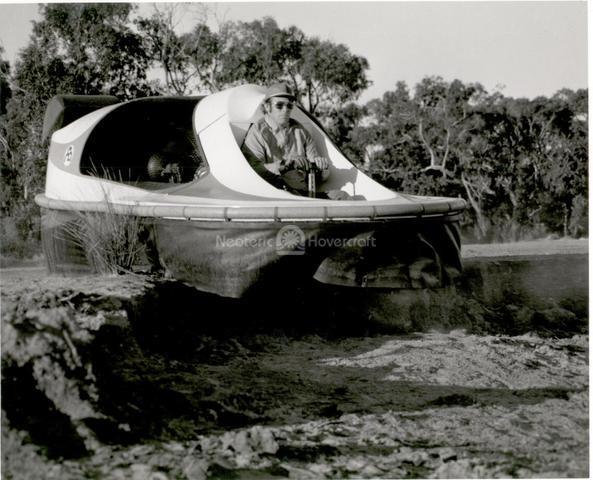 Neova I hovercraft testing