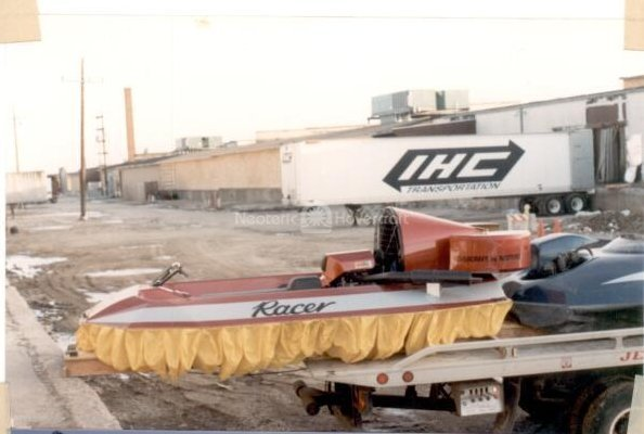 Neoteric Racer Hovercraft history
