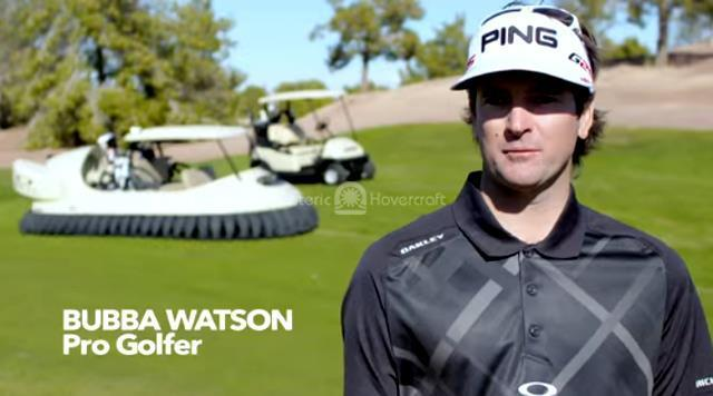 Bubba's Hover video YouTube viral video BW1 Bubba Watson photo