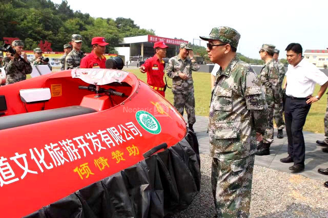 Photos Hovercraft Demo Chinese People's Liberation Army