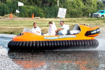 Picture Hovercraft tourism business Neoteric 6 passenger hovercraft