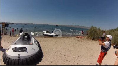 Hovercraft events HoverFest Lake Havasu Boat Show Neoteric recreational hovercraft