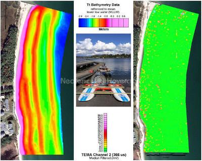 Image hovercraft environmentally sensitive survey vehicle Hydro International