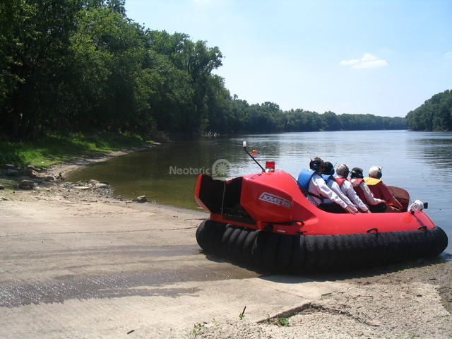 Picture India Hovercraft demonstration