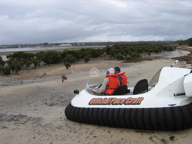 Australian Hovercraft pilot training