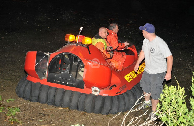 Neoteric Hovercraft mud rescue boats Kayaks on mud West Islip Fire Department