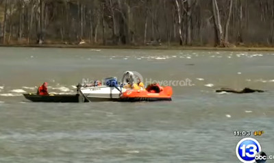 Video Hovercraft water rescue first responders Napoleon Ohio Fire Department Neoteric rescue hovercrafts