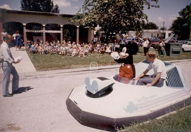 Mickey Mouse hovercraft Epcot