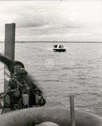 Neova 1 Hovercraft history photo