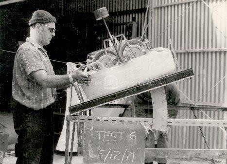 Slope stability Hovercraft history photo