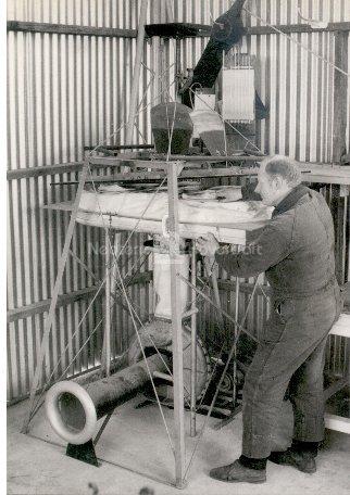 History Hovercraft skirt testing