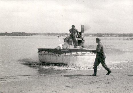 Fig. 18: AACVD5 hovercraft testing