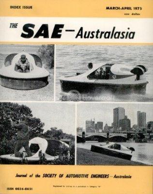 Hovercraft history Society of Automotive Engineers SAE